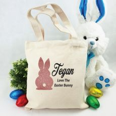 Personalised Easter Hunt Bag - Bunny