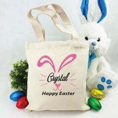 Personalised Easter Hunt Bag - Bunny Nose