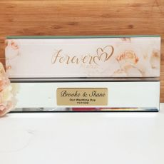 Forever & Always Glass Certificate Box