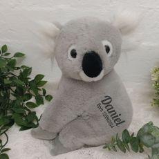 Personalised Baby Koala Bear Plush