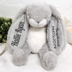 Nibble Baptism Bunny Rabbit Plush Toy 30cm