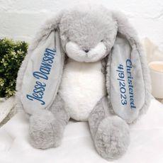 Nibble Christening Bunny Rabbit Plush Toy 30cm