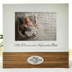 Personalised Baby Keepsake Photo Box