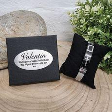 21st Birthday Catholic Cross Bracelet In Birthday Gift Box