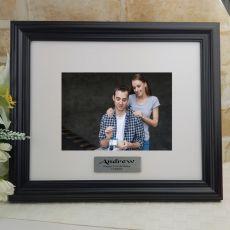 Personalised 21st Frame Black Timber Hathorne 5x7