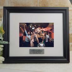 Personalised 30th Frame Black Timber Hathorne 5x7