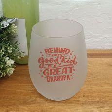 A Great Grandpa Wine Glass Tumbler 500ml