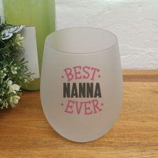 Best Nan Stemless Wine Glass Tumbler 500ml