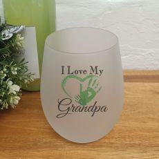 I Love My Grandpa Wine Glass Tumbler 500ml