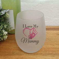 I Love My Mum Wine Glass Tumbler 500ml