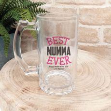 Best Mum Ever Personalised Beer Stein