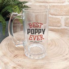 Best Pop Ever Personalised Beer Stein