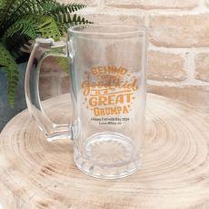 Behind Every Good Kid Is A Great Grandad Beer Stein