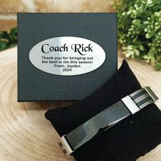 Coach ID Link Bracelet In Personalised Box