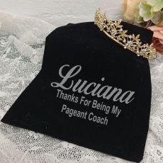 Coach Gold Vine Tiara in Personalised Bag