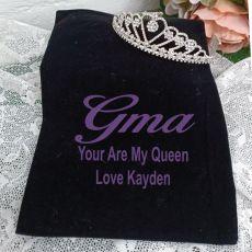 Grandma Large Heart Tiara in Personalised Bag