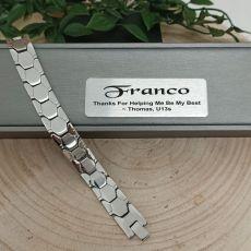 Coach Mens Urban Metal Bracelet - Braun