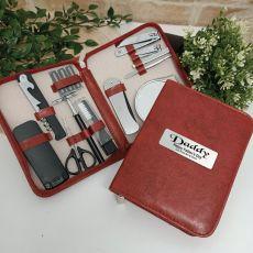 Dad Mens Brown Grooming Kit