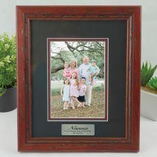 Nan Photo Frame 5x7 Wooden with Black Surround