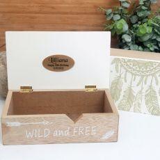 50th Birthday Wild & Free Dream Catcher Box