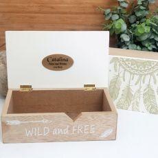 Birthday Wild & Free Dream Catcher Box