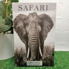 Elephant Black & White 16th Birthday Stash Book Box