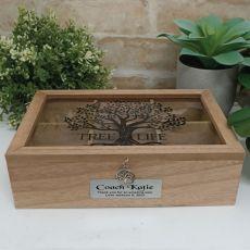 Coach Tree of Life Tea Box
