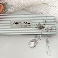 Personalised Aunty Dragonfly Suncatcher