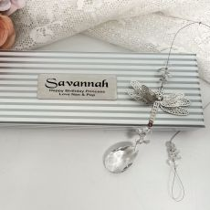 Personalised Birthday Dragonfly Suncatcher