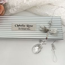 Personalised Naming Day Dragonfly Suncatcher