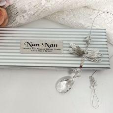 Personalised Nana Dragonfly Suncatcher