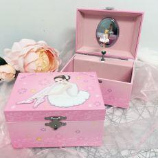 Ballerina Music Jewelley Box