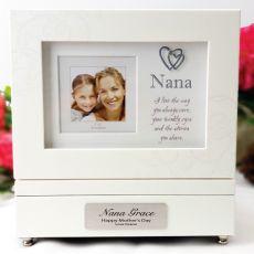 Personalised Nana Music Box Gift