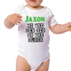 New Kid on the Block Baby Bodysuit