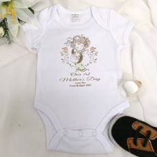 Personalised Mothers Day  Bodysuit - Vintage