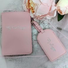 Baby's First Travel Gift Set - Pink