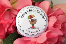 Personalised Baby Shower Party Badge