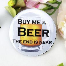 Buy me a Beer Bucks Night Badge