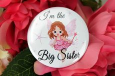 Personalised Fairy Badge - Custom Text