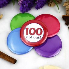 100th Birthday Party Badge