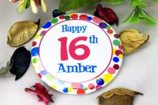 Personalised 16th Party Badge