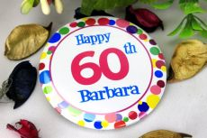 Personalised 60th Party Badge