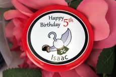Personalised Pirate Birthday Badge - Any Age