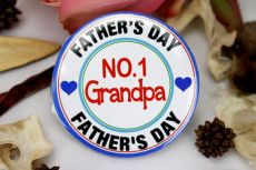 No.1 Grandpa Badge