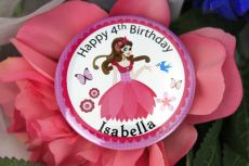 Personalised Princess Birthday Badge - Any Age