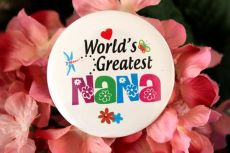 Worlds Greatest Nana Badge