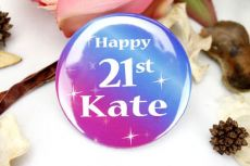 Personalised Party Badge - Any Age