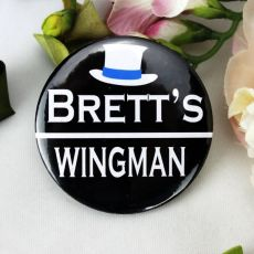 Wingman Bucks Night Badge - Personalised