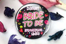 Intoxication Likely Hens Party Badge