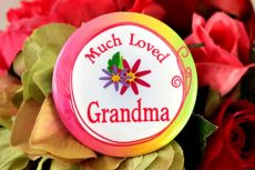 Much Loved Grandma Badge